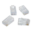 Platinum Tools EZ-RJ45 CAT6 Plug Connectors, 100 Pack 100010B