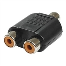 Generic 1900767 RCA Female to RCA Female X2 Adapter
