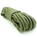 Emergency Zone 3/8 inch x 50' Rope, Olive Green
