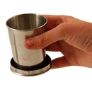 Emergency Zone Collapsible Stainless Steel Cup