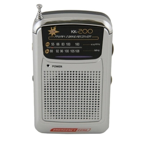 Emergency Zone AM/FM Radio