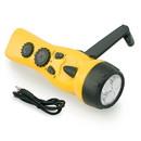 Emergency Zone Yellow Dynamo Radio/Flashlight/Charger