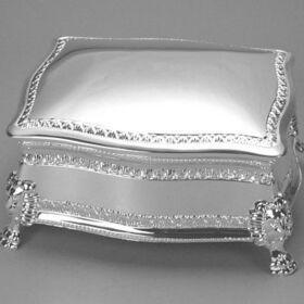 Engraved Gifts Direct 500006 Figaro Hinged Jewelry Box