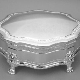 Engraved Gifts Direct 500009 Large Victorian Hinged Jewelry Box