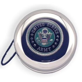 Engraved Gifts Direct 500659 Army Insignia - Nickel Plated YoYo