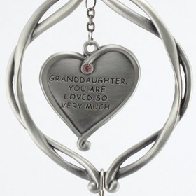 Engraved Gifts Direct 501060 Granddaughter Pewter Angel Ornament