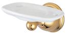 Kingston Brass BA3966PB Wall Mount Toothbrush and Tumbler Holder, Polished Brass