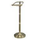 Kingston Brass CC2103 Pedestal Toilet Paper Holder, Vintage Brass