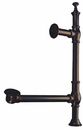 Kingston Brass CC3095 Clawfoot Tub Waste and Overflow Drain, Oil Rubbed Bronze