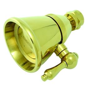 "Elements of Design DK1322 2-1/4"" Adjustable Spray Shower Head, Polished Brass"