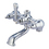 Elements of Design ED500-1 Faucet Body Only, Polished Chrome
