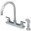 Elements of Design ES8791QLL Two Handle Kitchen Faucets with Plastic Sprayer, Polished Chrome