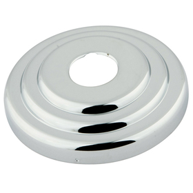 "Kingston Brass FLCLASSIC1 3"" Diameter Décor Escutcheon, Polished Chrome"