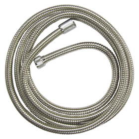 """Kingston Brass H696CRI 96"""" Stainless Steel Hose, Chrome"""