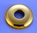 Kingston Brass K150F2 Shower Flange, Polished Brass