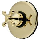 Kingston Brass KB3002BX Wall Volume Control Valve, Polished Brass