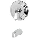 Kingston Brass KB3631PLTO Single Handle Tub Faucet, Chrome