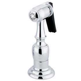"Kingston Brass KBSPR1 Kitchen Faucet Side Sprayer with 49"" Hose, Polished Chrome"