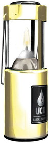 CANDLE LANTERN-BRASS by liberty mountain