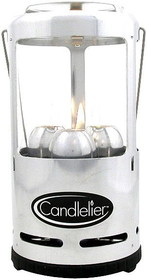 CANDELIER LANTERN POLISH ALU. by liberty mountain