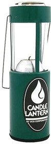 CANDLE LANTERN-GREEN by liberty mountain