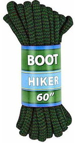 "ALPINE BOOT LACES 60"" BRN/GRN by liberty mountain"