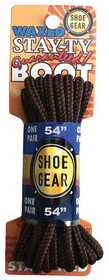 "WAXED BOOT LACES 54"" BRN/BRN by liberty mountain"