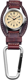 LEATHER HANGER BROWN LEATHER HANGER Watches by liberty mountain