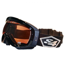 TRANSFER GOGGLE BLK/BLK AMB by liberty mountain
