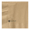Hoffmaster 126378 Recycled Kraft Beverage Napkin, 1 Ply