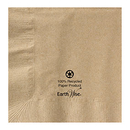 Hoffmaster 180200 10 x 10 Earth Wise Kraft Recycled Beverage Napkin