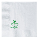 Hoffmaster 180205 Earth Wise White Beverage Napkin, 2 Ply