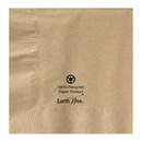 Hoffmaster 180230 10 x 10 Kraft Recycled Earth Wise Beverage Napkin