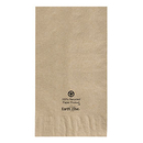 Hoffmaster 180430 15 x 17 Kraft Recycled Earth Wise Dinner Napkin