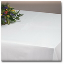 Hoffmaster 210444 8108-LLS White Tablecover Linen-Like Select