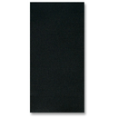 Hoffmaster FP1101 Black/White FashnPoint Dinner Napkin, Ultra Ply, 1/8 fold, Two Tone, Reversible
