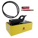 ESCO 10593 Pump, Air Hydraulic, 5 Quart w/10604 Hose