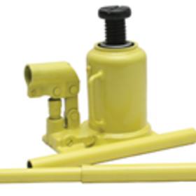 """Yellow Jackit 10856 20 Ton Bottle Jack, Min. Height - 7 1/8"""", Max. Height - 12"""""""