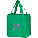 "Custom Y2KG12813 12""W X 8""Gusset X 13""H (With Bottom Insert) Y2K Grocery Bags With Inserts"