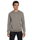 Alternative AA9575 Unisex Long-Sleeve Basic Fleece Crew T-Shirt