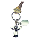 Custom Angel Key Chain w/ Eng Tag