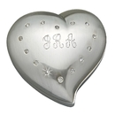Custom Free Form Heart Box with Crystals