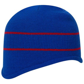 Blank 100-630 100% Acrylic Knit Beanie with Stripes, Price/each