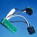 Built-in 06-9305-06, Switch & Receptacle Harness Blk/Wht Lfor Hanmi Dua