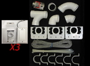 Built-in 793375W, Kit, 3 Inlet Install Kit With White Supervalves