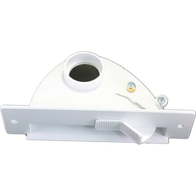 Built-In VCPW01 Vacpan, Without Trim Plate White