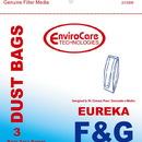 Eureka 216SW, Paper Bag, Eur Style F&G Esp Models Env 3PK
