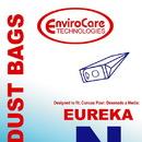 Eureka 107SW, Paper Bag, Eur Style N Mighty Env 3PK