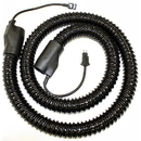 Fitall Hose, 6' Electric Wire Reinforced W/Pigtails Blk