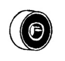 Fitall 32-8300-09, Ball Bearing, 8mm Hoover/Gs/Kirby/Lamb Neoprene